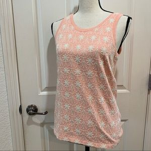 J. Crew Tops - J. Crew Embroidered Tank Top NWT Peach XS Blouse